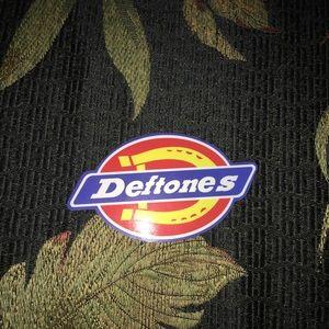 Deftones decal